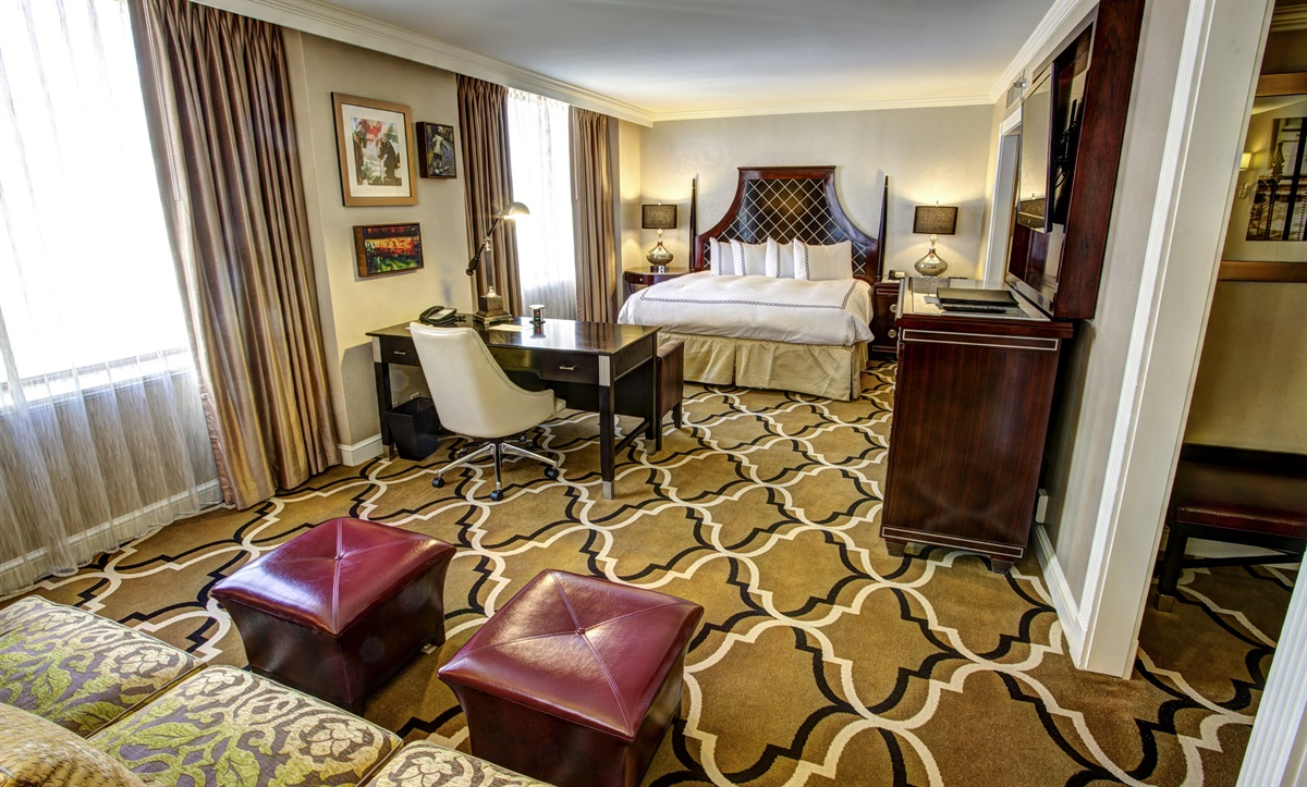 Suite in New Orleans hotel
