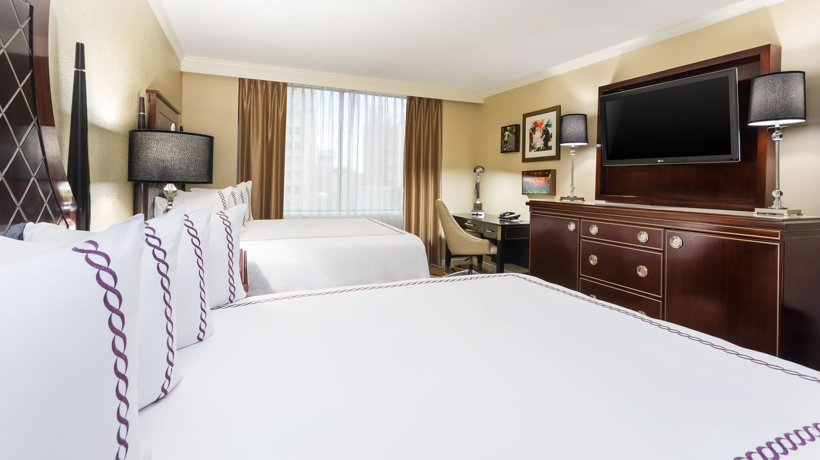 Two Queen Beds Room · Two Queen Beds Room · Guestroom Tub · Guestroom  Shower. Two Queen Beds Suite With Balcony New Orleans