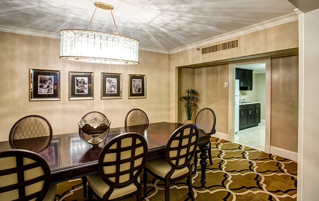 Presidential Suite at New Orleans hotel