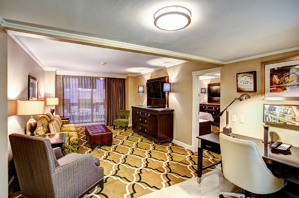 Balcony Suite at New Orleans hotel
